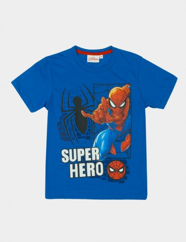 CAMISETA SPIDERMAN C/R M/C ESTAMPADO