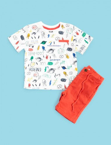 CONJUNTO KIDS LAND CORTO