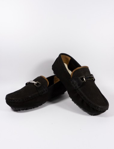 ZAPATO LENI SHOES MOCASIN HERRAJE C/VIVO