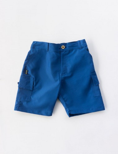 SHORT TRAVESURAS TIPO CARGO C/BOLSILLO C/REGULADOR