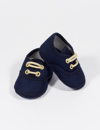 ZAPATO BLUE RED CASUAL C/CORDONES